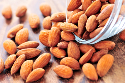 Almonds eating for fat loss