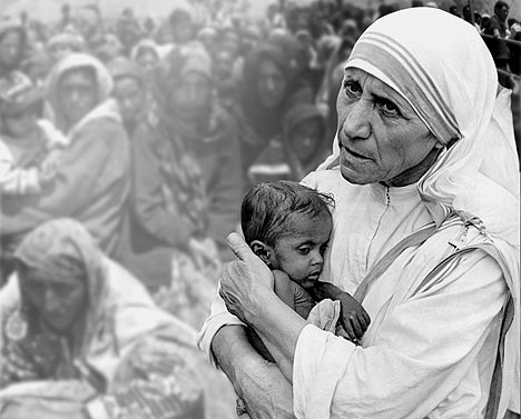 Mother Teresa Courage