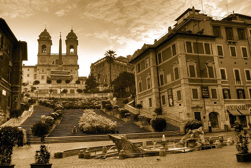 spanish steps chad howse