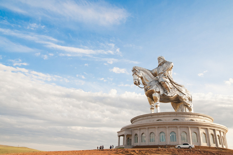biggest statue of Chinghiskhan